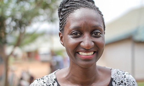 Ann, an Equity and Merit Scholarship recipient
