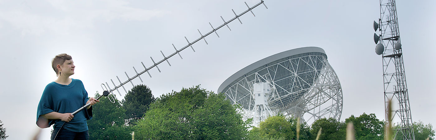 PHD student working at Jodrell Bank