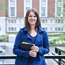 University of Manchester PhD student Julia Kolkmann