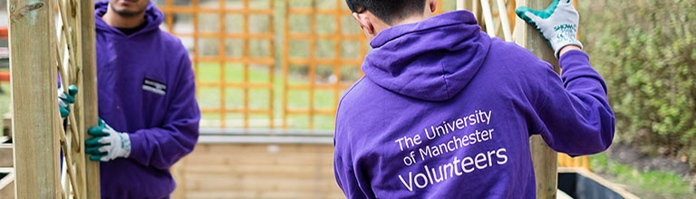 University of Manchester volunteer