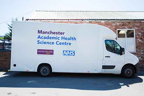 The University of Manchester mobile audiology research van