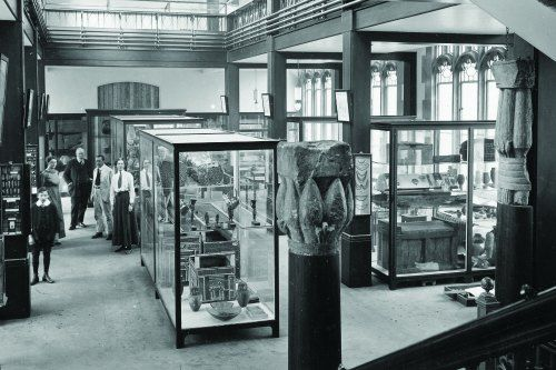 The Museum's first collections had belonged to local collector John Leigh Philips