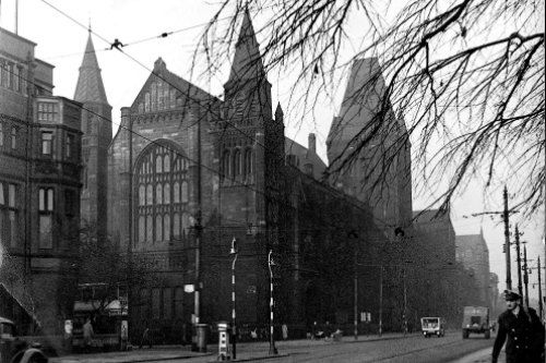 The Whitworth Hall, 1944