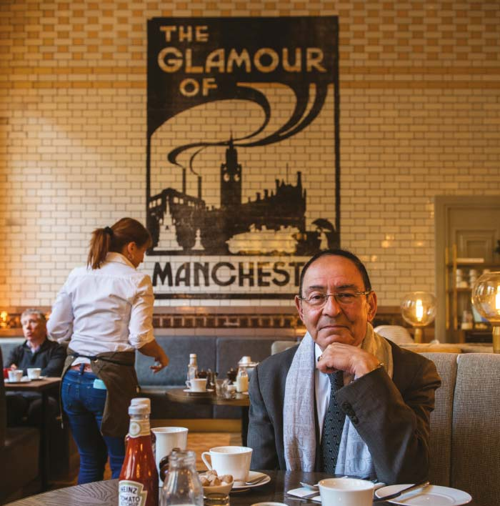 Sir Howard Bernstein in The Refuge on Oxford Road