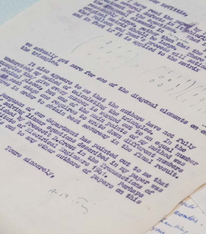 Alan Turing letter