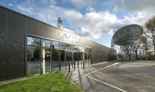 External view of Jodrell Bank Discovery Centre
