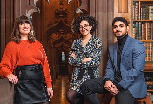 Cover of the 2021 undergraduate prospectus