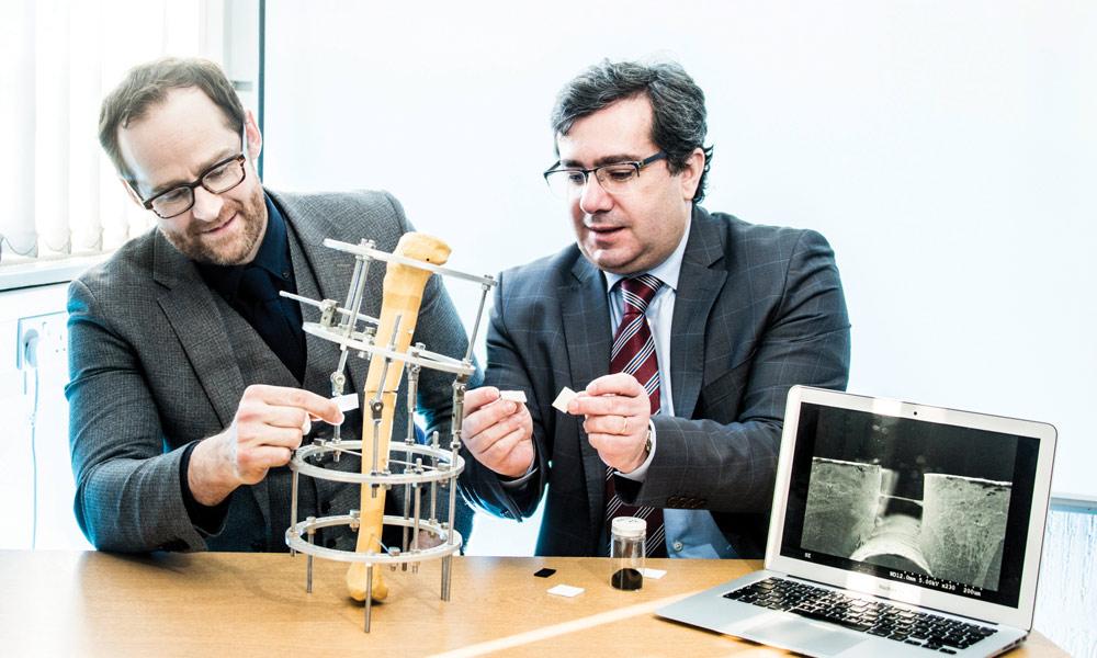 Professor Paulo Bartolo and Dr Glenn Cooper