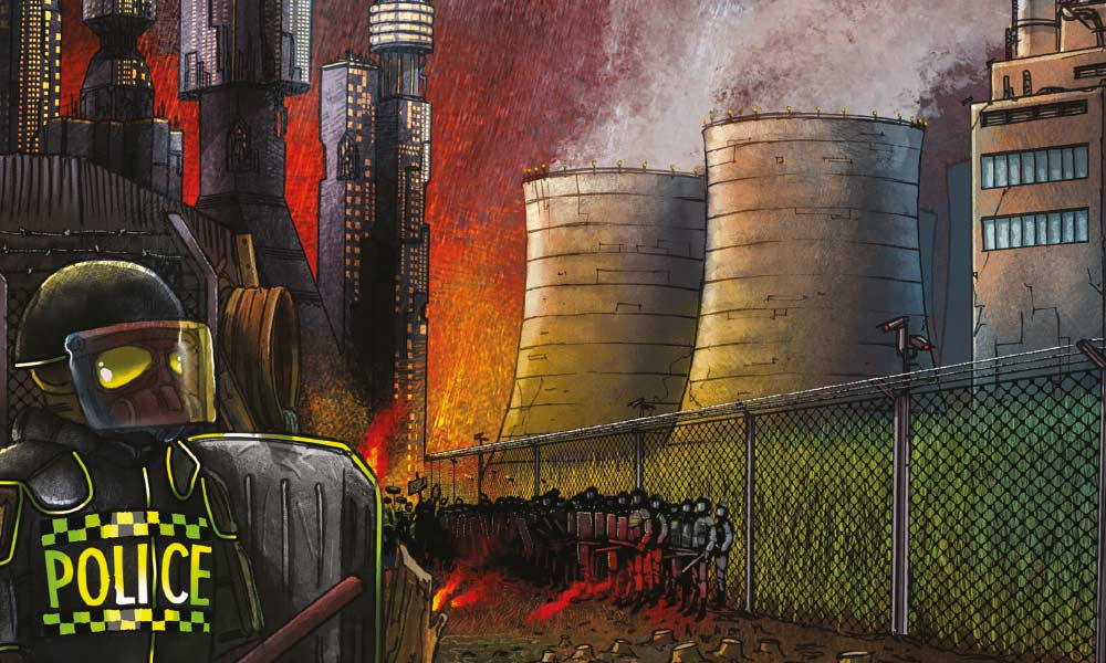 Page from bioenergy graphic novel