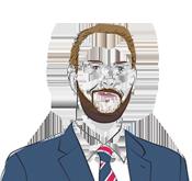Illustration of Kirk Malone