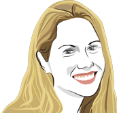 Illustration of Jen O'Brien