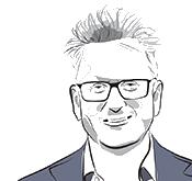 Illustration of Simon Ross