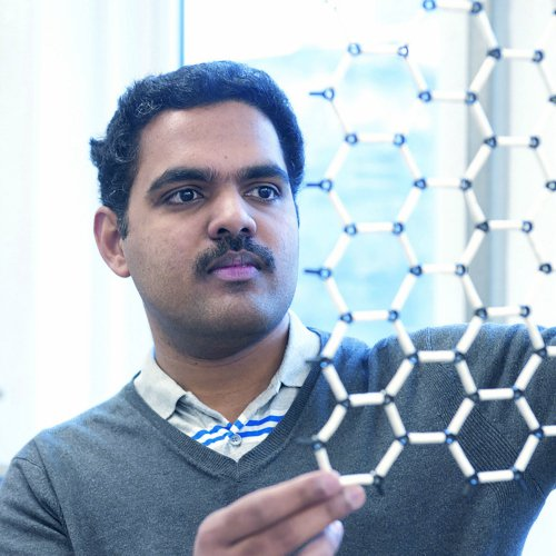 Professor of Materials Physics, Rahul Nair, at The University of Manchester