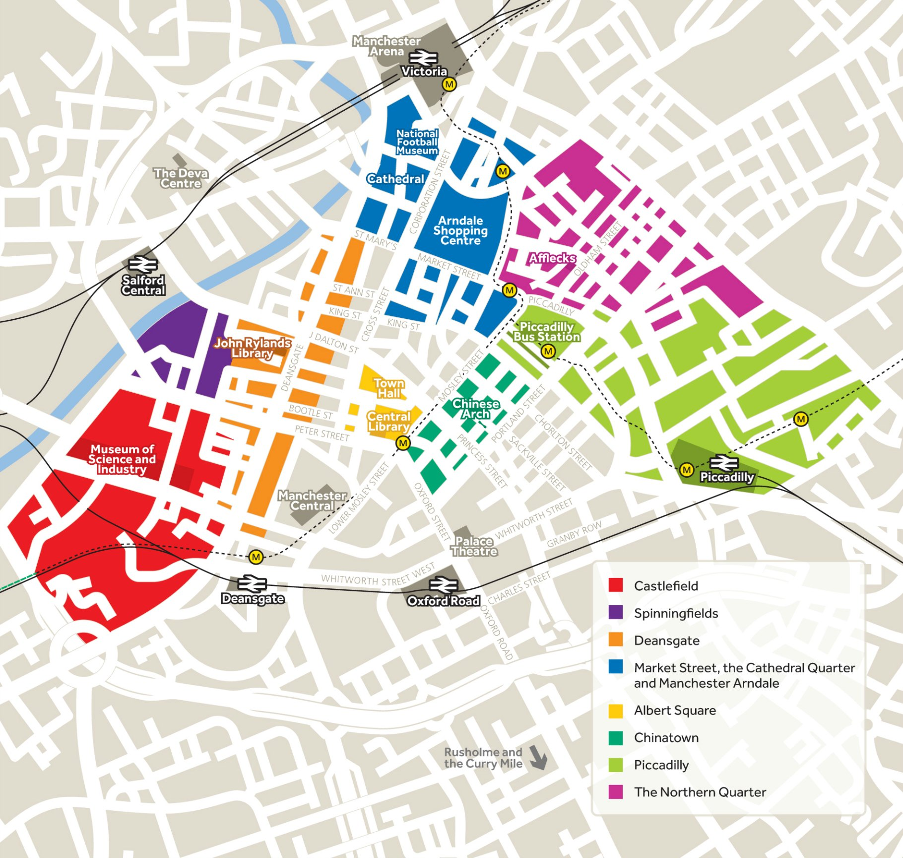 Manchester Uni Map The city of Manchester | The University of Manchester Manchester Uni Map