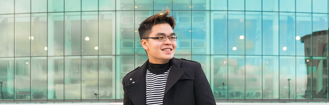 International student at The University of Manchester