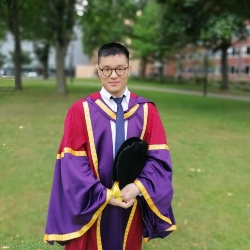 University of Manchester PhD student  Chunhu Shi