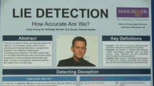 Lie detection abstract
